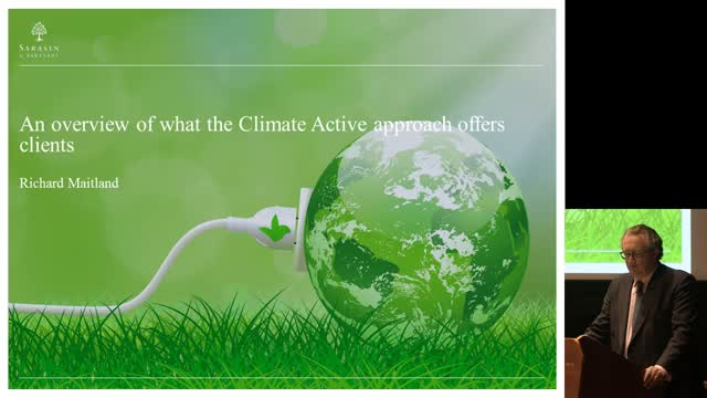 An overview of what the Climate Active approach offers clients