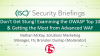 Don't Get Stung! Examining the OWASP Top 10 & Getting the Most from Advanced WAF