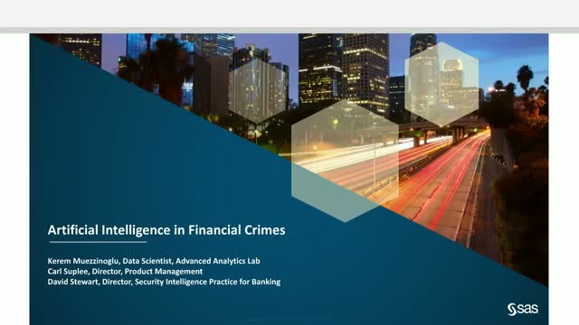 Artificial Intelligence in Financial Crimes