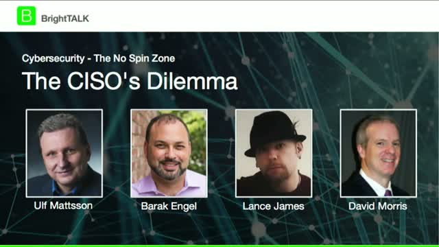 Advanced Cyber Security: Data-driven Defense - The CISO's Dilemma