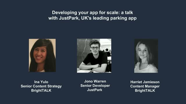 Developing your app for scale: a talk with JustPark, UK's leading parking app