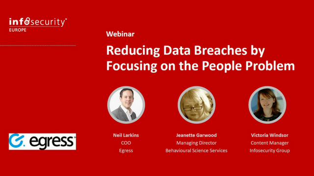 Reducing data breaches by focusing on the people problem
