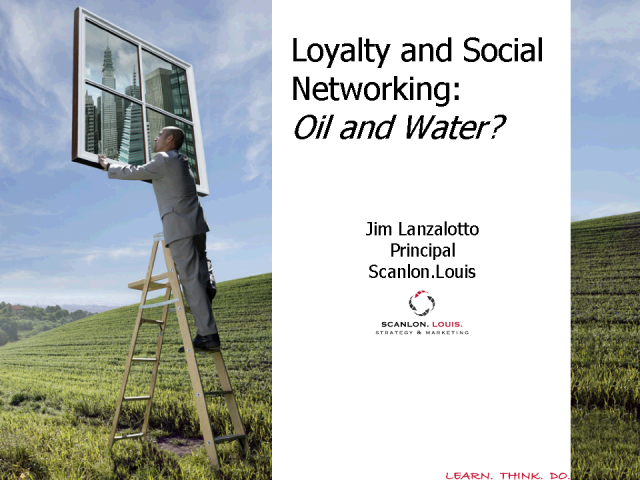 Loyalty and Social Networking: Oil and Water?