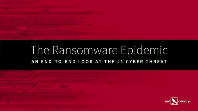 The Ransomware Epidemic: an End-to-End Look at the #1 Security Threat