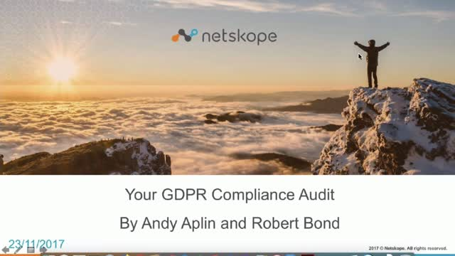 GDPR Countdown - Audit Stage