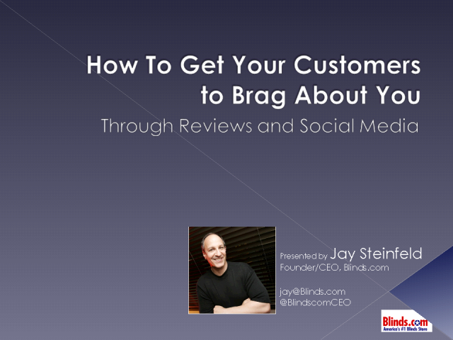 Get Customers to Brag About You Thru Opinion Sites & Social Media