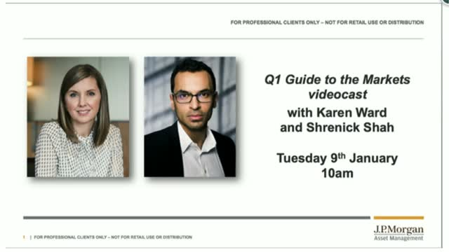 Q1 Guide to the Markets videocast with Karen Ward (60 minutes)