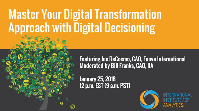 Master Your Digital Transformation Approach with Digital Decisioning