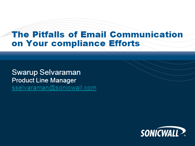 The Pitfalls of Email Communication on Your compliance Efforts