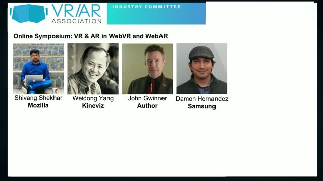 VR & AR in WebVR and WebAR