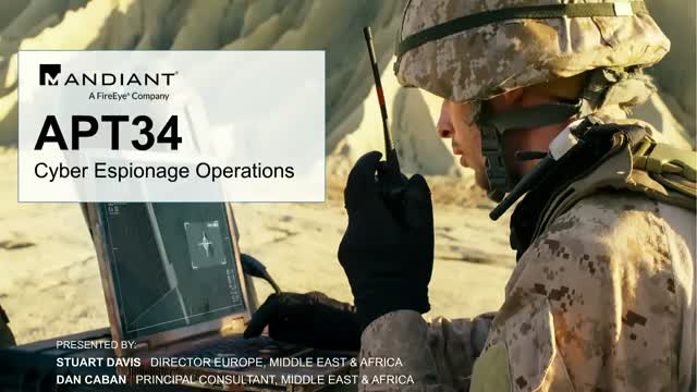 APT34 - New Targeted Attack in the Middle East