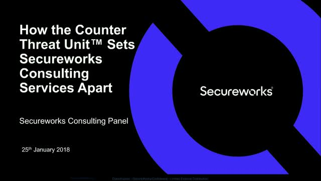 How the Counter Threat Unit™ Sets Secureworks Consulting Services Apart