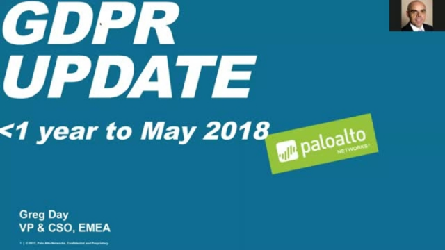 GDPR update - less than 1 year to May 2018
