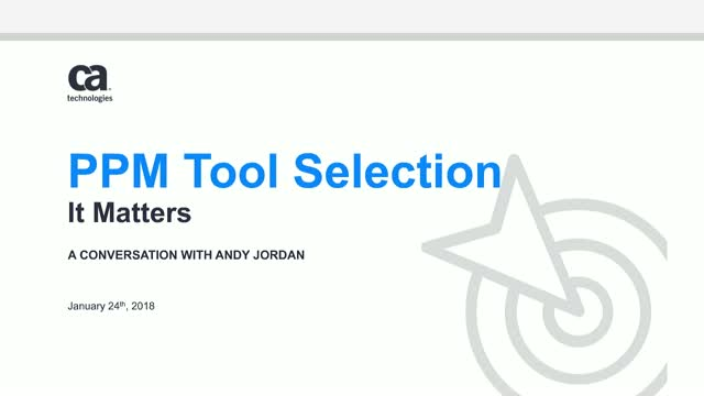 PPM Tool Selection. It Matters.