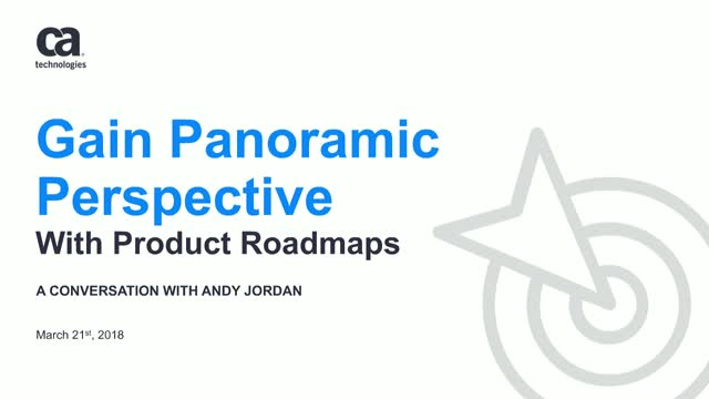 Gain Panoramic Perspectives with Product Roadmaps