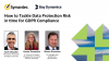 How to Tackle Data Protection Risk in time for GDPR Compliance