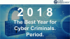 2018 - The Best Year for Cyber Criminals. Period