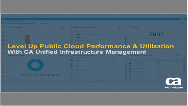 UIM Demo Series: Monitoring Public Cloud Performance & Utilization