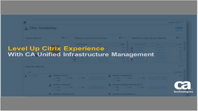 UIM Demo Series:Ensure Your Citrix® Environment Delivers A Phenomenal Experience