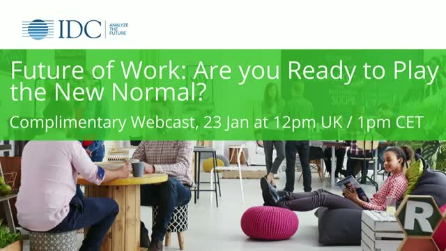 Future of Work: Are you Ready to Play in the New Normal?