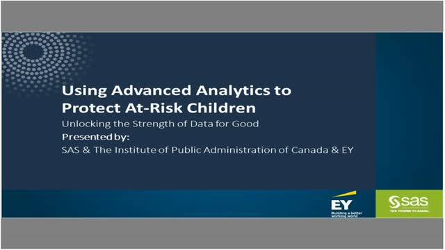 Using Analytics to Protect At-Risk Children