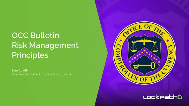 OCC Bulletin: Risk Management Principles