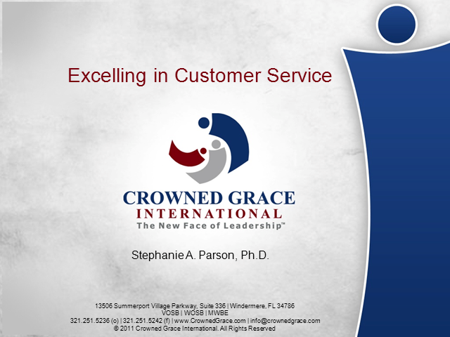 Developing A Practice of Extraordinary Internal Customer Service