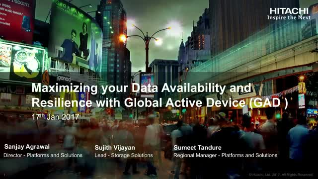 Maximize your Data Availability & Resilience