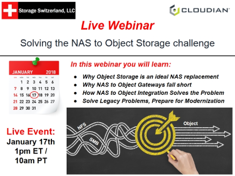Solving the NAS to Object Storage Challenge