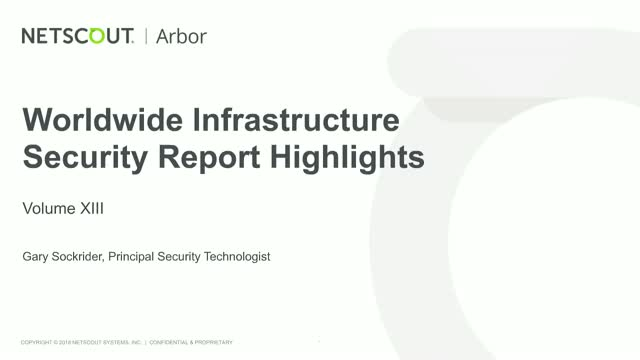 13th Annual Worldwide Infrastructure Security Update