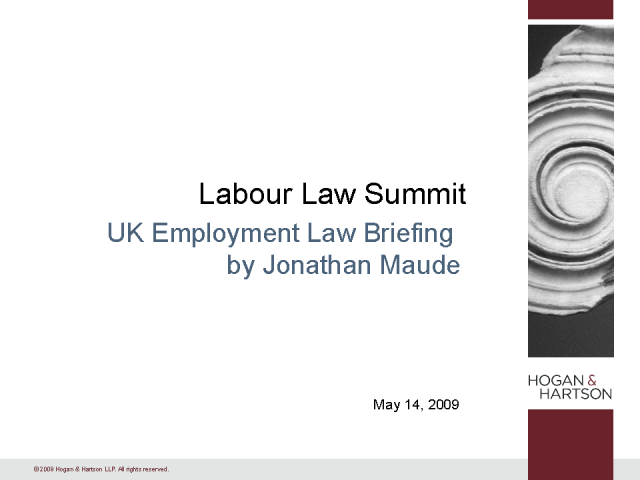 UK Employment Law Briefing