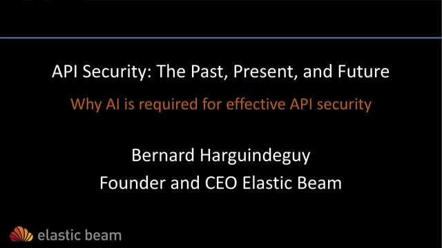 API Security: The Past, Present, and Future
