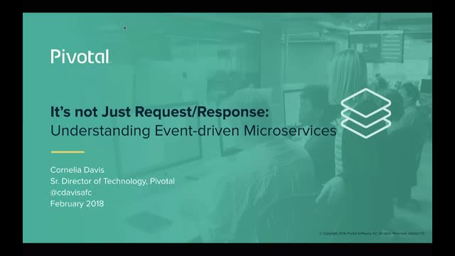 It's Not Just Request/Response: Understanding Event-driven Microservices