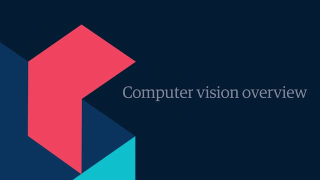 Computer vision overview   Genpact