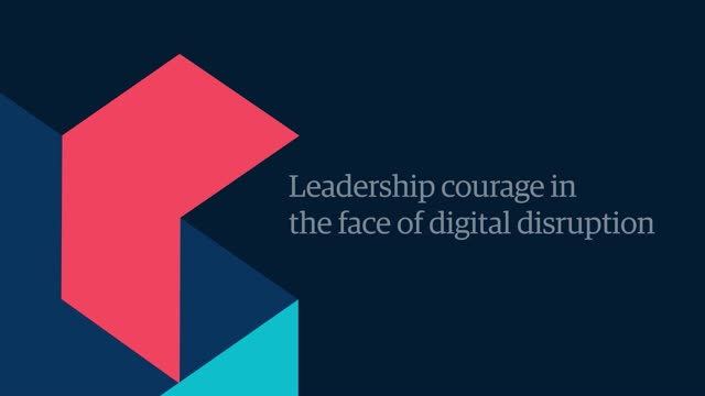 Technology Management Image: Leadership Courage In The Face Of Digital Disruption