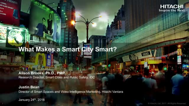 What makes a Smart City smart?