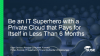 Be an IT Superhero with a Private Cloud that Pays for Itself in Under 6 Months