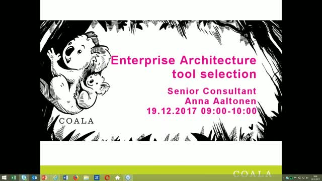 Enterprise Architecture tool selection