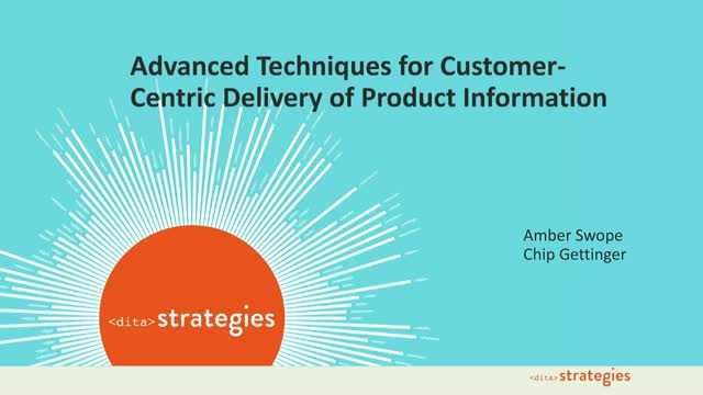 Advanced Techniques for Customer-Centric Delivery of Product Information
