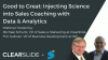 From Good to Great: Injecting Science into Sales Coaching with Data & Analytics
