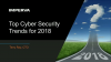 Top 5 Cybersecurity Trends for 2018