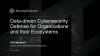 Data-driven Cybersecurity Defense for Organizations and their Ecosystems