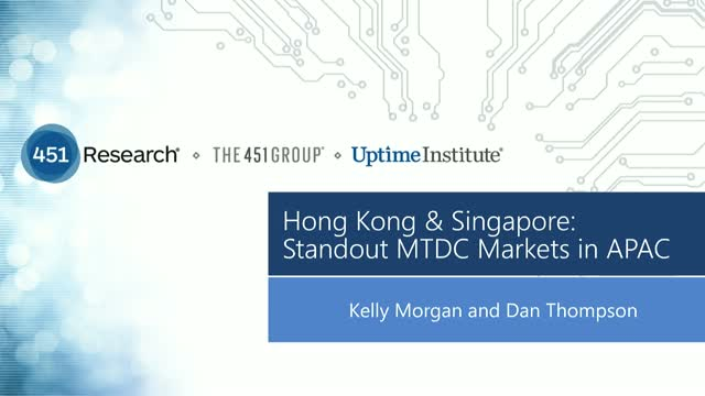 Hong Kong & Singapore: Standing Out in the APAC MTDC Market (APAC Audience)
