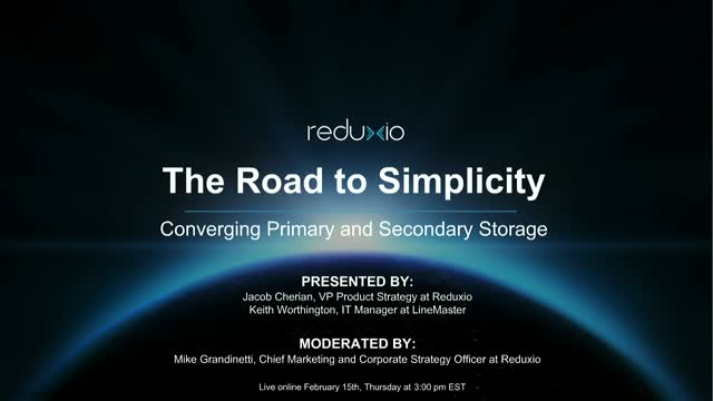 The Road to Simplicity: Converging Primary and Secondary Storage