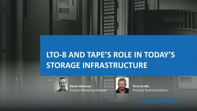 New Product Release: LTO-8 Tape Drives