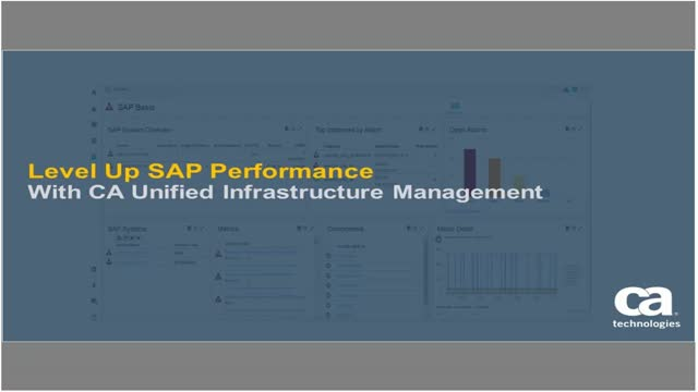 UIM Demo Series: Cloud or On-Premise, Improve the Performance of SAP® Technology