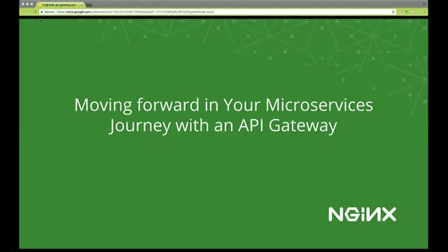 Moving Forward in Your Microservices Journey with an API Gateway