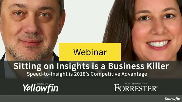 Sitting on Insights is a Business Killer - Speed is 2018's Competitive Advantage