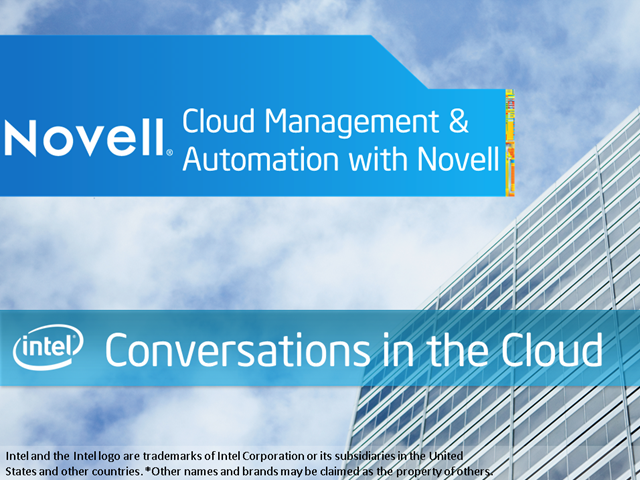 Conversations in the Cloud: Management & Automation with Novell