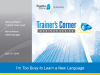 Trainer's Corner #3: I'm so busy! What are some Rosetta Stone best practices?